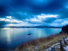 "Qilak ernet Qik'rtaq (Alutiiq meaning ""Cloudy day in Kodiak"") — in Kodiak, AK. Kodiak Alaska, Living In Alaska, Cloudy Day, Spaces, Mountains, Photo And Video, City, World, Quotes"