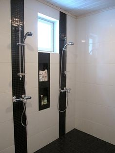 moderni pesuhuone - Google-haku Master Shower, Master Bath, Bathroom Toilets, Bathrooms, Sauna, Bath Time, Lockers, Bathtub, Vanity