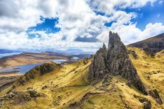 View from Old Man of Storr by Bartosz Dmowski on 500px