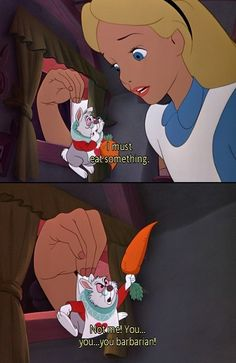 Alice in Wonderland- movie quote
