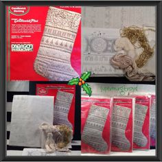 4Christmas StockingsKits embroidery needlework by Supermurgitroyd, $40.00 Christmas Stocking Kits, Christmas Stockings, Make Your Own, How To Make, Needlework, Embroidery, Unique Jewelry, Holiday Decor, Handmade Gifts
