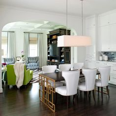 kitchen flows into dining room - Google Search