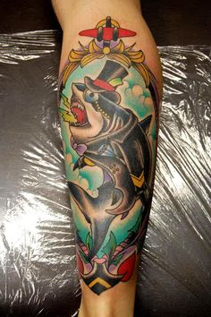 Tattoo done by Gordon Claus.