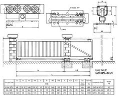 Chain Link Fence Rolling Gate Fence Project Pinterest