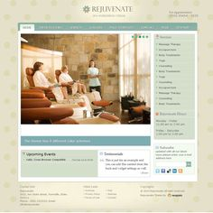 Rejuvenate Professional Spa WordPress Theme | WordPress Theme Download