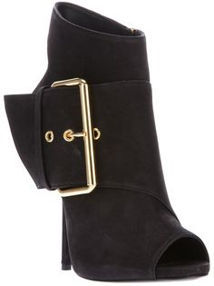 Giuseppe Zanotti Design Buckle Detailed Ankle Boot