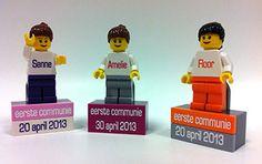 Communie en Lentefeest 2014 aandenken in Lego | Communie Lego figuurtjesMijn Blokje
