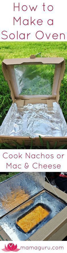 Here is a great science craft to teach kids about alternative energy: a solar oven! Harnessing the power of the sun is cool and teaches us about caring for our environment and using renewable resources. Best of all, kids can make a snack they love, nachos