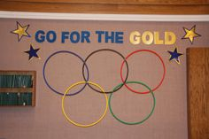 Olympics theme for Blue and Gold