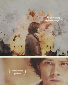 Sam. Dean. Castiel. Meg. Bobby. Just Supernatural gives me hope <3   I think I pinned this already but whatever