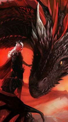 Daenerys Targaryen Game of Thrones Dragons Dragón Queen of seven Kingdoms Mother of Dragons Dessin Game Of Thrones, Arte Game Of Thrones, Game Of Thrones Dragons, Fantasy Creatures, Mythical Creatures, Game Of Thones, Elfa, Dragon Artwork, Dragon Pictures