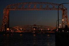 Photography by ZTSProductions.com ~Lift Bridge in Duluth, MN