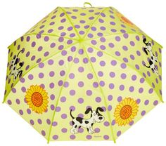 Playshoes - Paraguas para niña, talla única, color original - http://comprarparaguas.com/baratos/de-colores/verde/playshoes-paraguas-para-nina-talla-unica-color-original/
