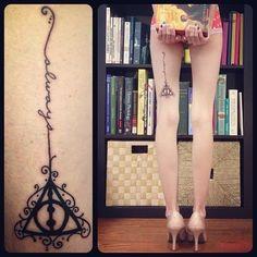 Harry Potter tattoo...