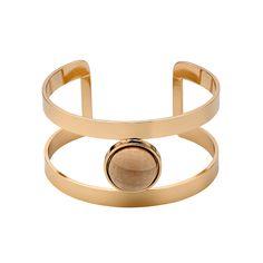 Bracelet, Gold/Beige, Pilgrim