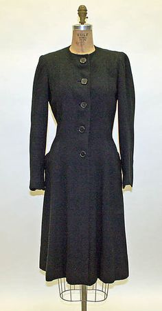 Coat  Designer: Lucien Lelong Date: 1935–37 Culture: French Medium: wool Accession Number: 1980.40.1