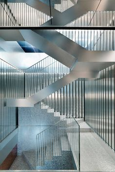 Repossi Jewelry Flagship Store in Paris | http://www.yellowtrace.com.au/metallic-interiors/