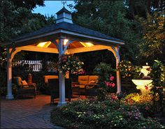 Enjoy an intimate setting both day and night