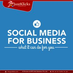 #Social #Media For Business... Contact us: +91 8181000018 Or Visit: http://justklicks.com/ #SMO #Company In #Lucknow