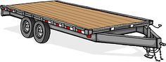 When choosing a trailer to build your house upon, there are several considerations to be mindful of. A trailer is built with axles connecting the wheels that are rated for certain load capacities. Deck Over Trailer, Truck Bed Trailer, Trailer Build, Trailer Plans, Truck Camper, Dovetail Trailer, Monster Truck Bed, Fire Truck Room, Truck Bed Date