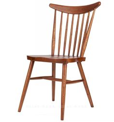 Windsor chairs wood dining chair Nordic American country neoclassical stylish simplicity backrest Restaurant Bar
