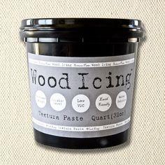 Wood Icing Textura Paste