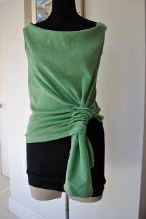 Handmade by Carolyn- Pattern magic 3; ponytail top B