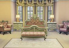 Rose Dust Sim: Bedroom • Sims 4 Downloads