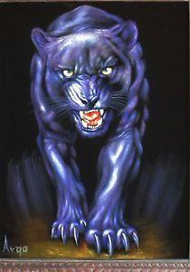 Jaguar Leopard, Leopard Cat, Velvet Painting, Rendering Art, Fantasy Artwork, Black Panther, Big Cats, Black Velvet, Lion Sculpture