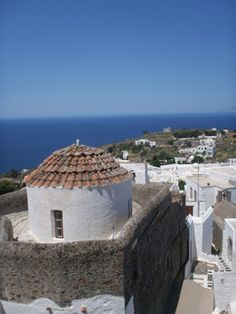 View from the Monastery, Patmos