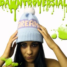 SLIME PRODUCT SQUARE day dreamer beanie at www.dawntroversial.com