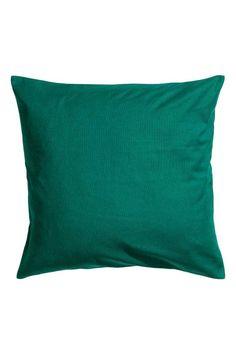 Płócienna poszewka na poduszkę: Poszewka na poduszkę z bawełnianego płótna. Kryty suwak.