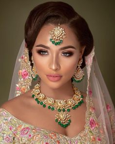 """Heritage Jewels on Instagram: """"Stunning Bridal Campaign created by @coshimakeup with our very own Heritage Jewels ✨  Call us on +44(0)7931 999111 or Visit our Online…"""" Pakistani Bridal Makeup, Indian Wedding Makeup, Indian Wedding Bride, Bride Makeup, Wedding Hair And Makeup, Hair Wedding, Pakistani Wedding Hair, Bridal Hairstyle Indian Wedding, Bridal Veils"""