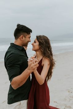Neha + Amit - Santa Monica Beach Couples Shoot — California Wedding and Elopement Photographer - Fushion News Couple Beach Pictures, Poses For Pictures, Beach Pics, Couple Pics, Beach Sessions, Photo Sessions, Beach Photography, Couple Photography, Wedding Photography