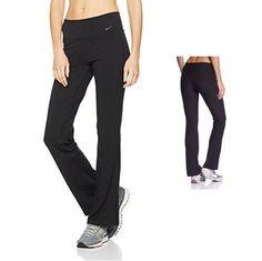 727d0f9f3865f7 Nike Womens Legends 2.0 DriFIT Black Regular Fit Training Pants XS  548517-010 #Nike