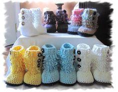 cute crochet boots
