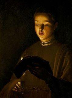 Georges de la Tour - The Choirboy, 1645