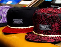 AMPAL CREATIVE X FEATURE Snapback Cap Collection