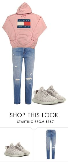 """""""Untitled #1811"""" by fashionistaannie ❤ liked on Polyvore featuring adidas Originals and Madewell"""