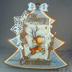 Dutch Doobadoo Shape Art kerstboom
