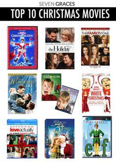 Top 10 Christmas mov