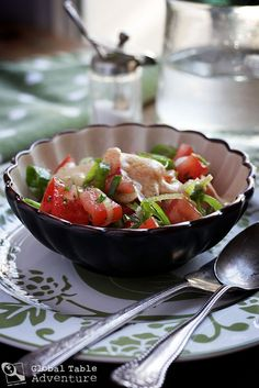 Recipe: South Sudanese Tomato Salad by Global Table Adventure