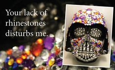 Rhinestone Darth Vader. need to find one at a thrift store!