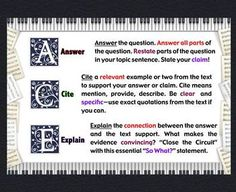 Thursday Throw Down #4: Citing Text Evidence in Literature ...