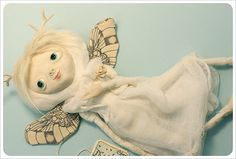 Animal Angel doll