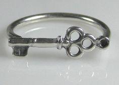 Skelton Key Ring.  Love it!