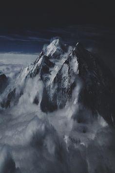 mountains..