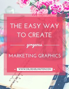 A free and easy way to create gorgeous marketing graphics for your blog posts, social media updates and other marketing materials using Canva. Here's my step-by-step guide to getting started...