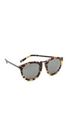 Womens Sunglasses |  Karen Walker Womens Harvest Sunglasses Crazy TortSmoke Mono One Size ** Find out more about the great product at the image link.-It is an affiliate link to Amazon. #WomensSunglasses