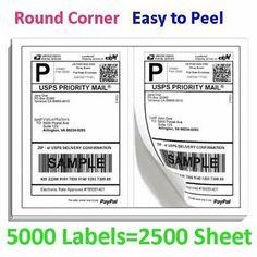FRAGILE SHIPPING STICKERS LABELS Botique Round Corner Care Packaging Qty 90